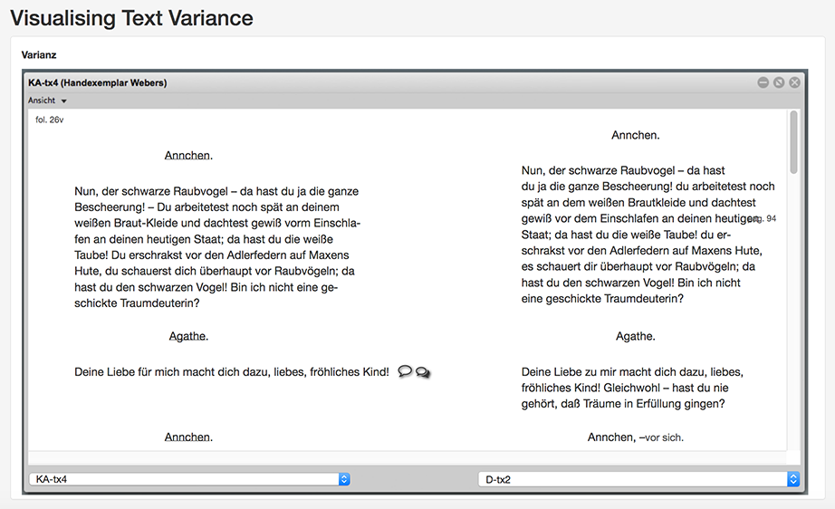 Text Variance